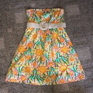 NWOT- Lilly Pulitzer Short Strapless Dress